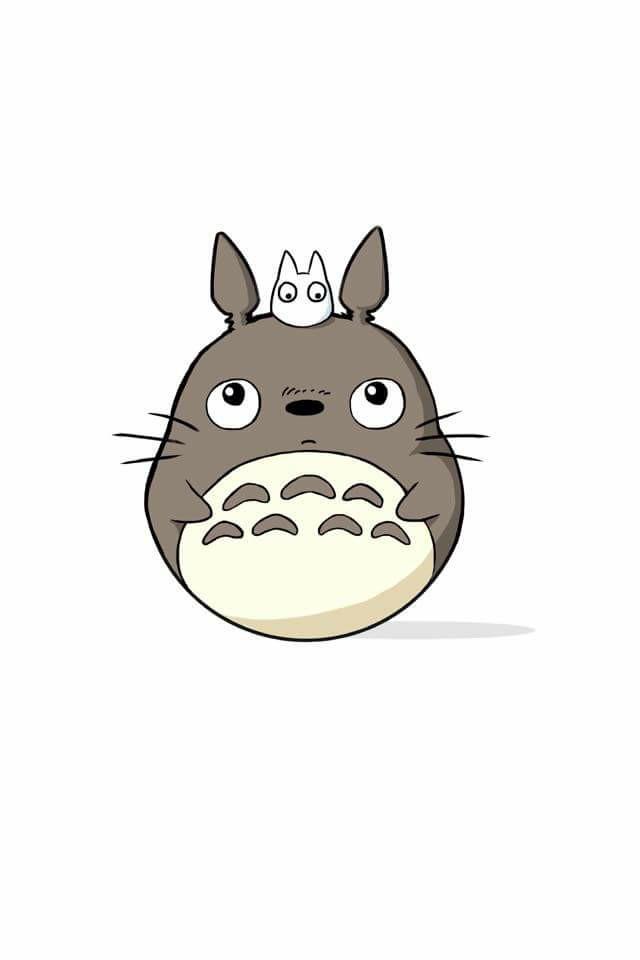 640x960 Totoro Studio Ghibli Totoro, Studio Ghibli And Anime