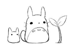 267x200 Cute My Neighbor Totoro Totoro Cartoon Illustration Gif