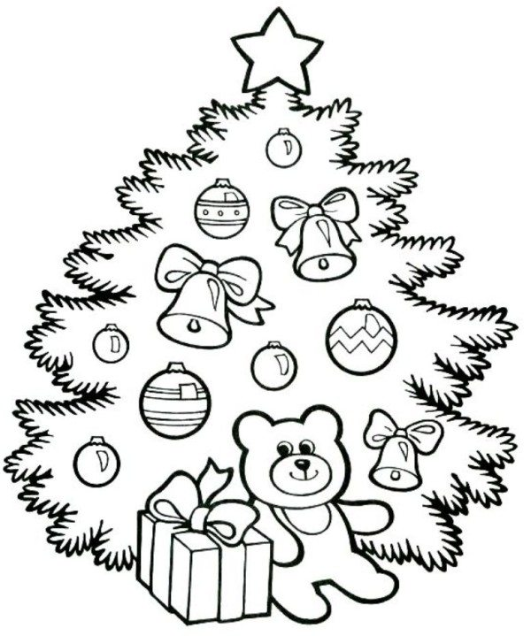 600x719 Cute Christmas Tree