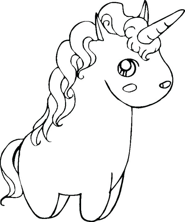 600x721 Free Unicorn Coloring Pages Cute Unicorn Coloring Pages Unicorn