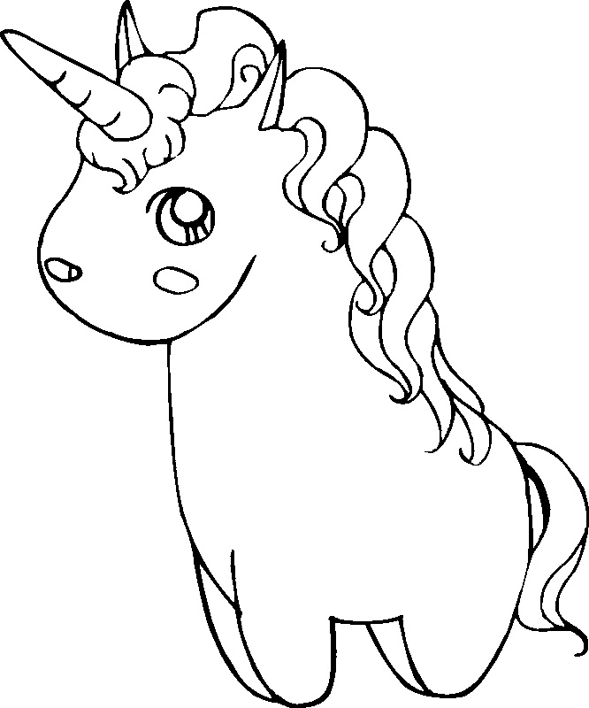Cute Unicorn Drawing At Getdrawings Com Free For Personal Use Cute