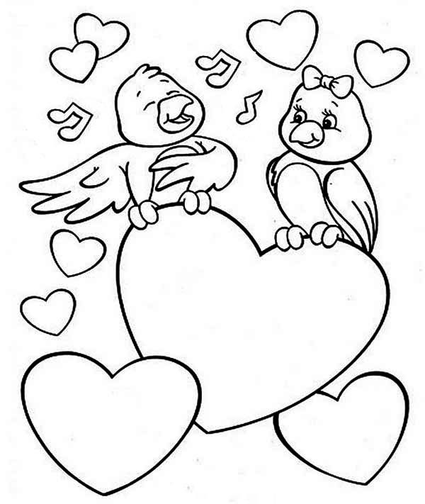 600x711 Cute Valentines Day Coloring Pages Valentine39s Info