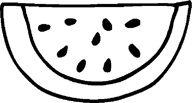 675x364 Fancy Watermelon Coloring Pages 71 For Your Crayola Photo Coloring