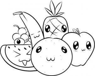 302x242 How To Draw How To Draw Fruit