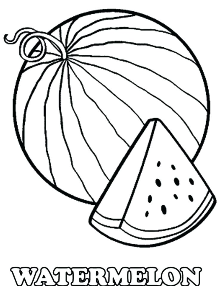 728x960 Watermelon Coloring Pages Best Coloring Pages