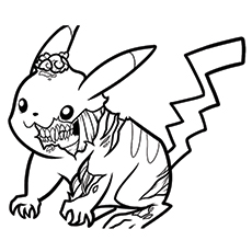 230x230 Coloring Pages Cute Zombies Coloring Pages Free Printable Zombie