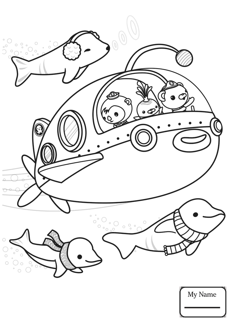 793x1109 Cuttlefish Coloring Pages