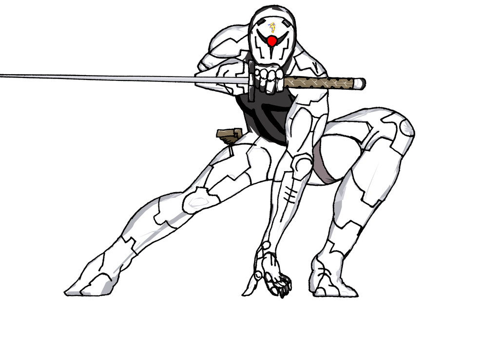 1024x724 Cyborg Ninja Version 1 By Ampgraphicart
