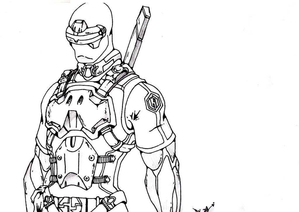 1024x725 Cyborg Ninja By Locuazmente