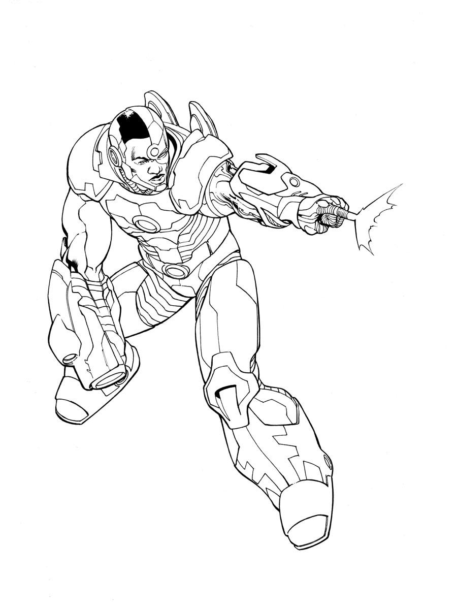 900x1203 Daily Sketch Cyborg Robert Atkins Art