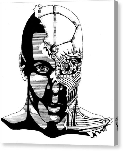 506x622 Syl Cyborg Drawing By Scarlett Royal