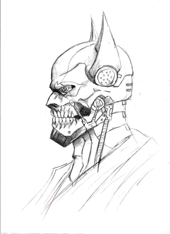 698x960 Cyborg Batman By Darkmatteria