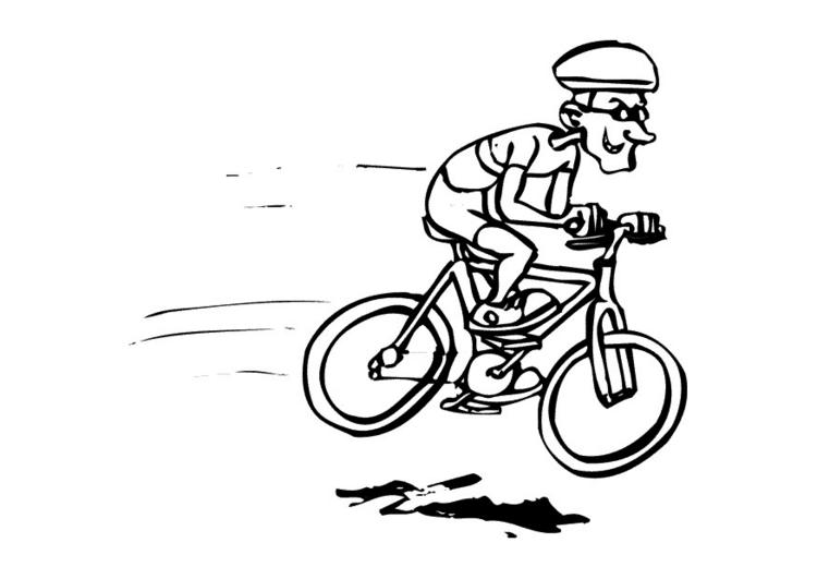 750x531 Funny Drawing! Cycling Funny Drawings