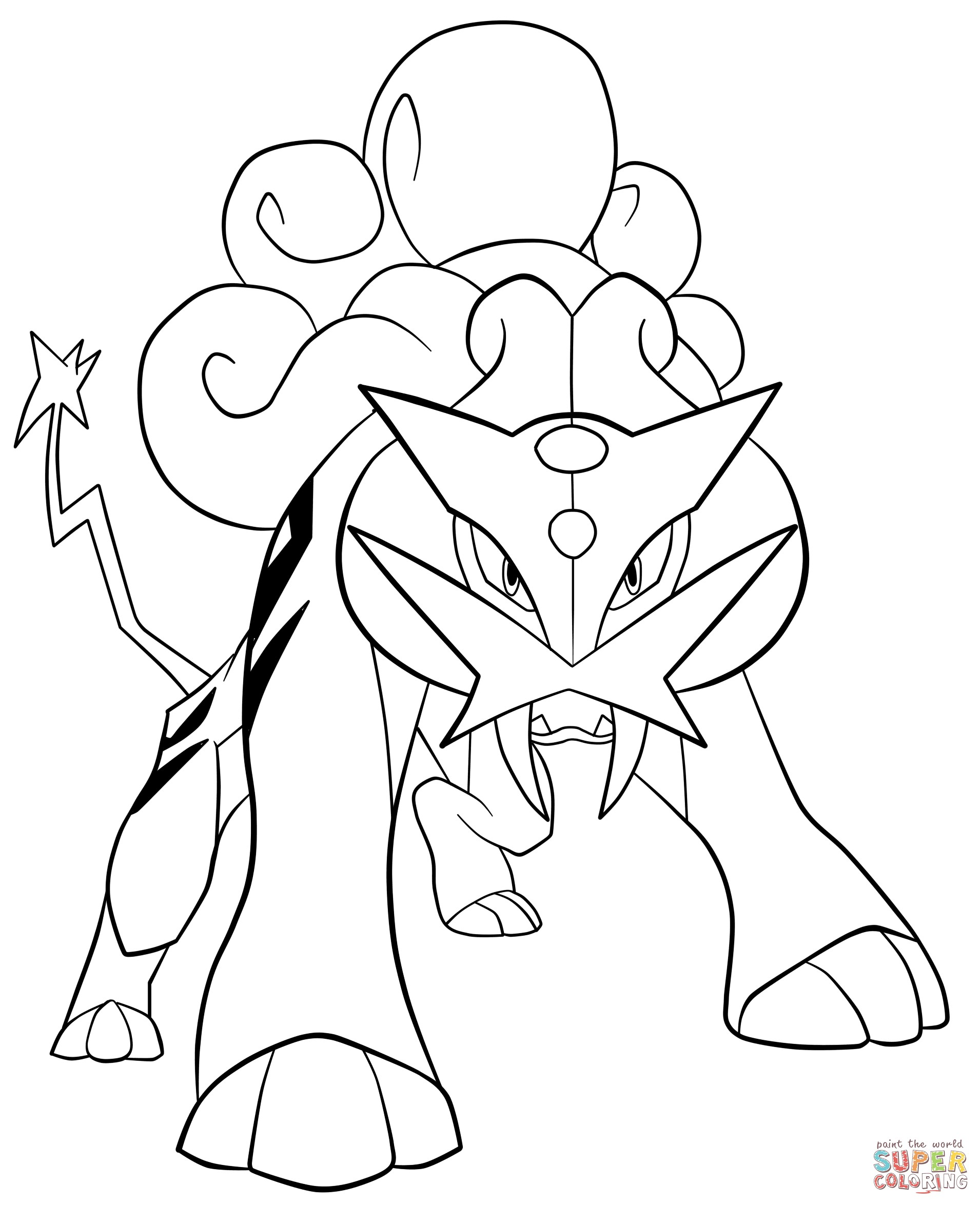 1910x2349 Pokemon Coloring Pages Cyndaquil Awesome Raikou Pokemon Coloring