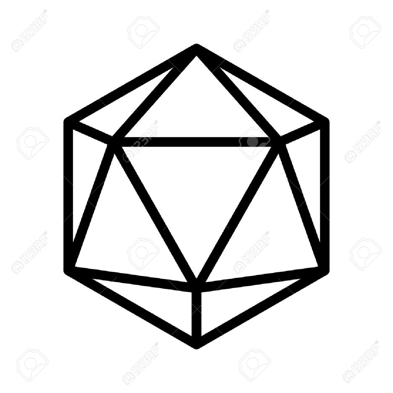 D20 Drawing