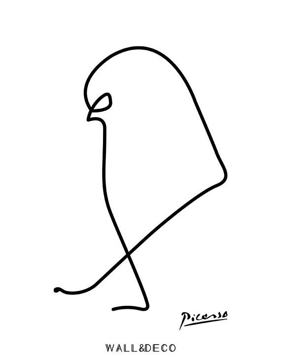 570x725 Picasso Print Picasso Le Moineau Picasso Scketch Picasso