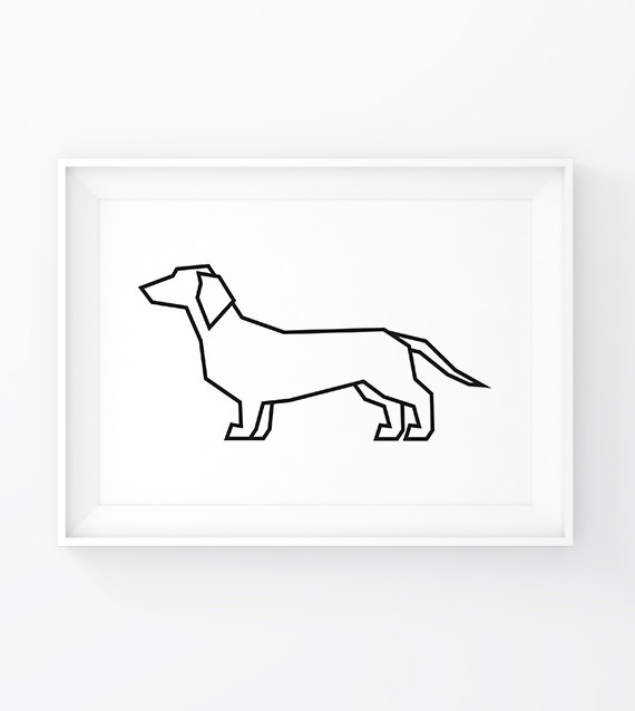 Dachshund Drawing Picasso At Getdrawings Com