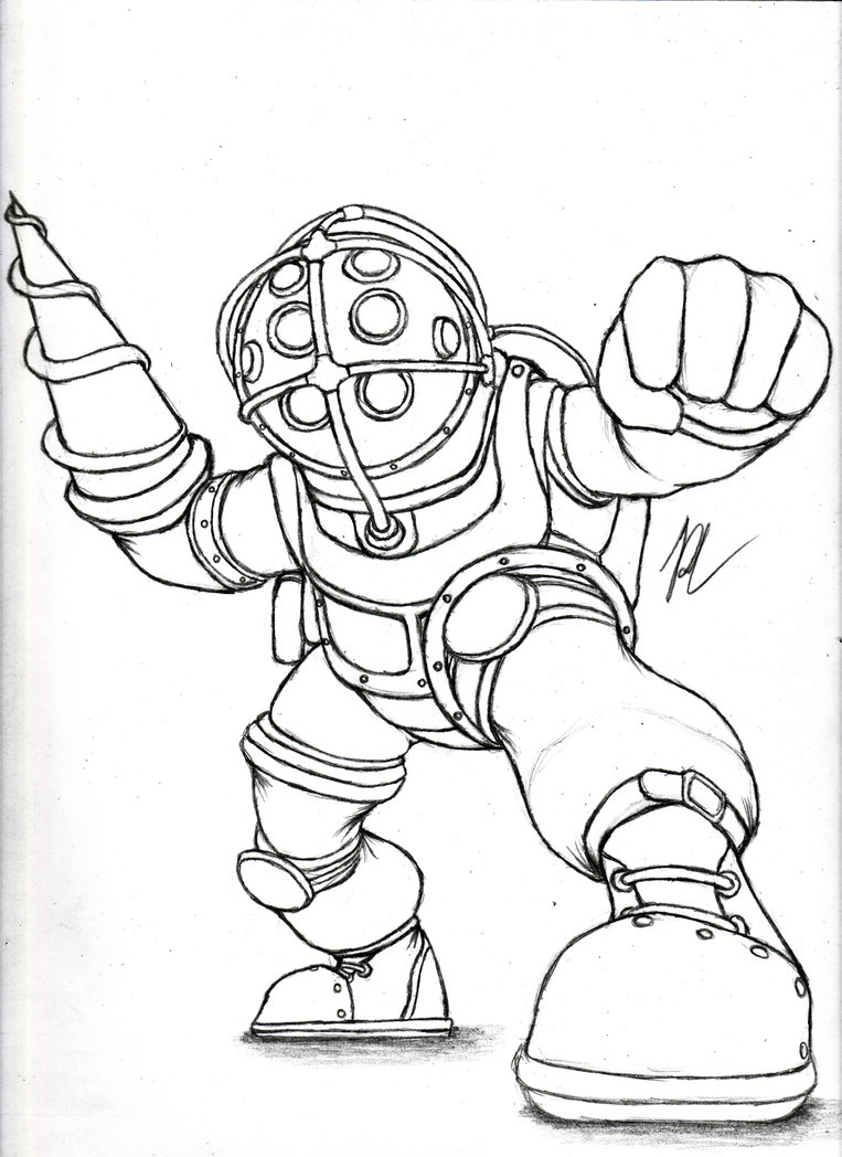 The Best Free Bioshock Drawing Images Download From 19 Free