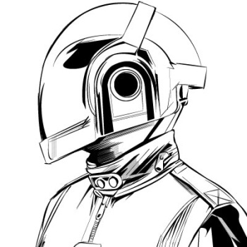 350x350 Daft Punk Vector Daft Punk, Punk And Dj