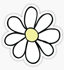 210x230 Daisy Drawing Stickers Redbubble