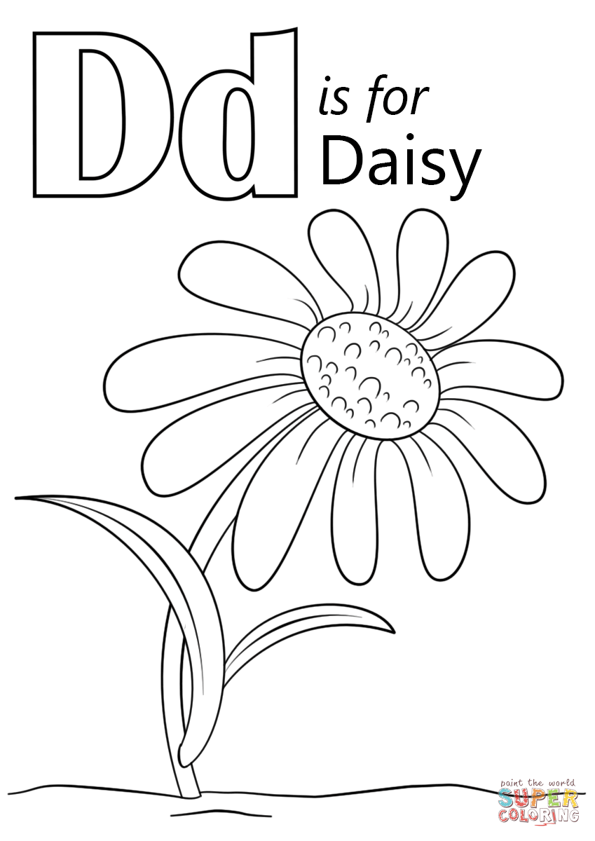 849x1200 Obsession Daisy Coloring Pages Flower Outline Page Stencils