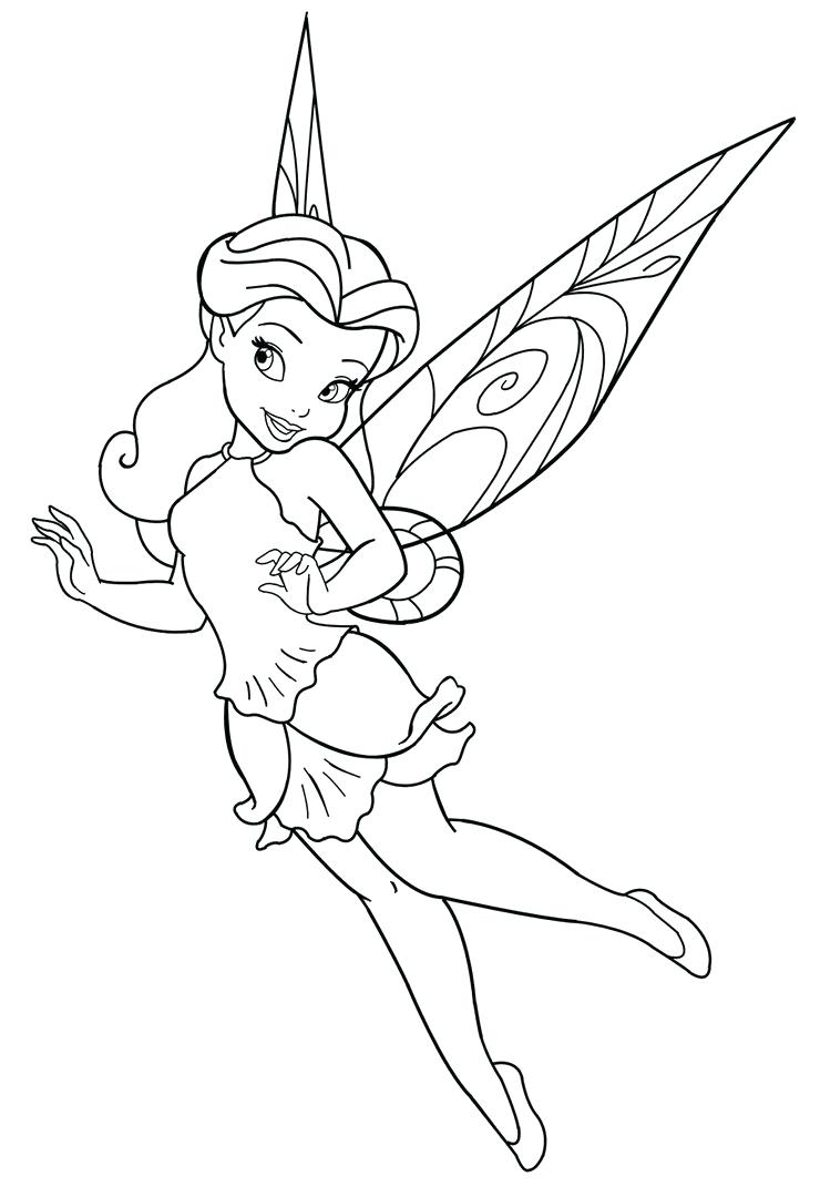 740x1080 Luxury Fairy Coloring Pages In Line Drawings With 130