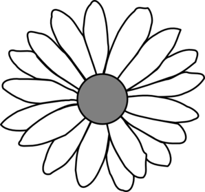 daisy outline drawing at getdrawings com free for personal use rh getdrawings com free clip art daisy border free daisy clipart borders