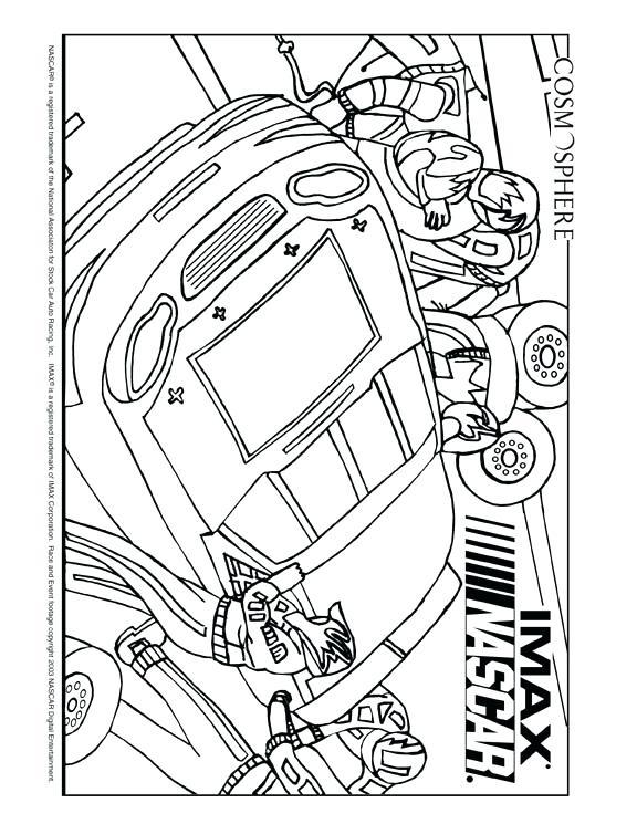 576x745 Dale Earnhardt Jr Car Coloring Page