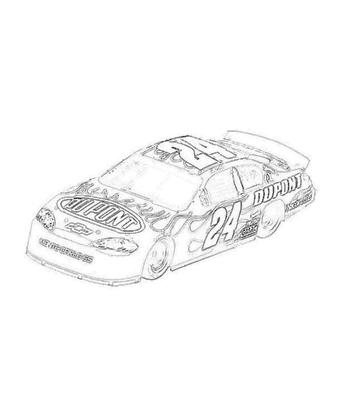 Dale earnhardt drawing at free for for Nascar 88 coloring pages