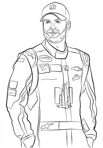 333x480 Dale Earnhardt Jr Coloring Page Free Printable Coloring Pages