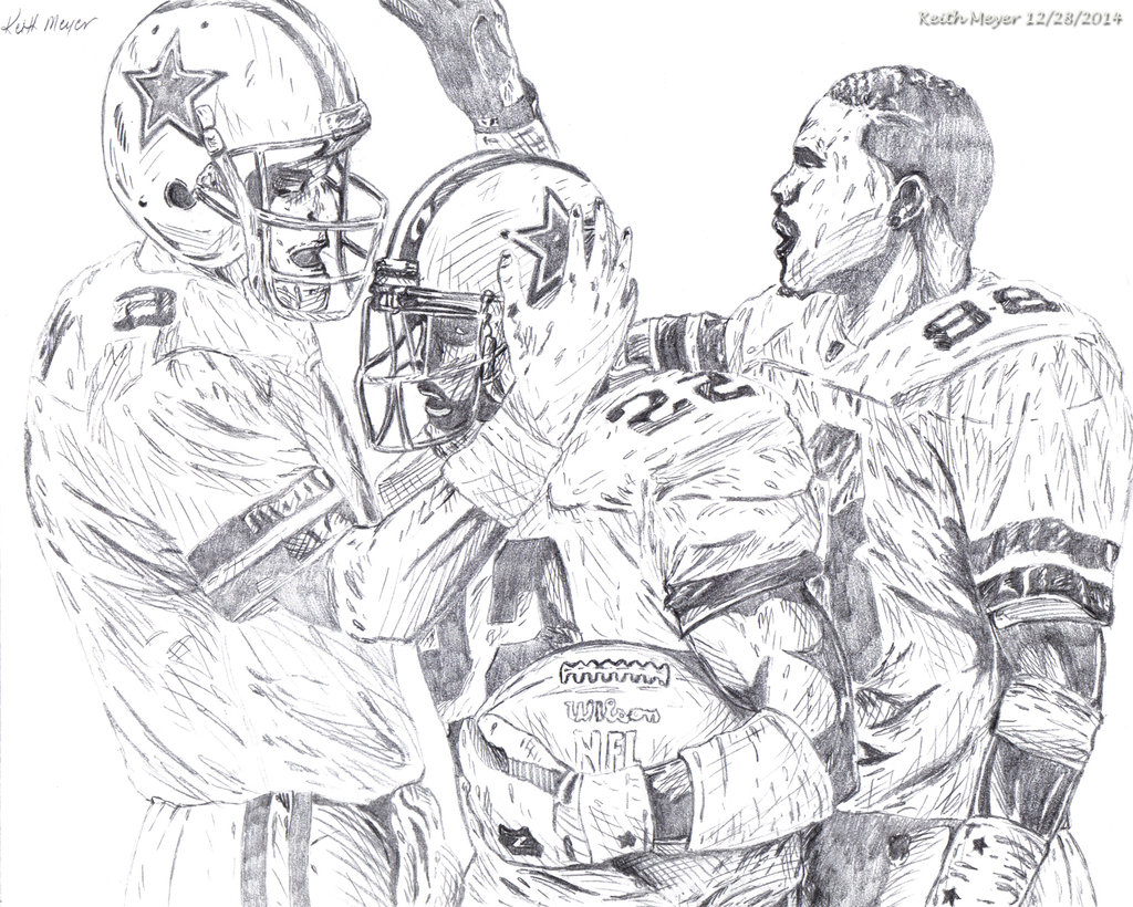 Dallas Cowboys Drawing