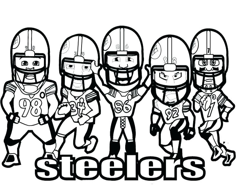 764x628 Football Coloring Pages Football Player Coloring Pages Printable