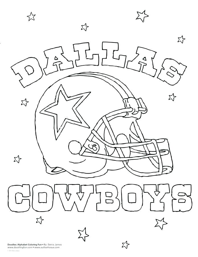 695x900 Cowboy Coloring Page Cowboys Logo Coloring Pages Home Dallas