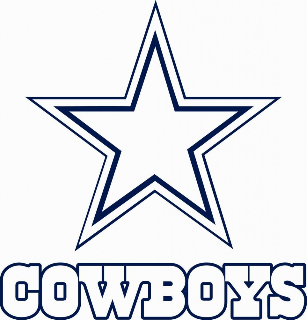Dallas Cowboys Logo Drawing at GetDrawings.com | Free for personal ...