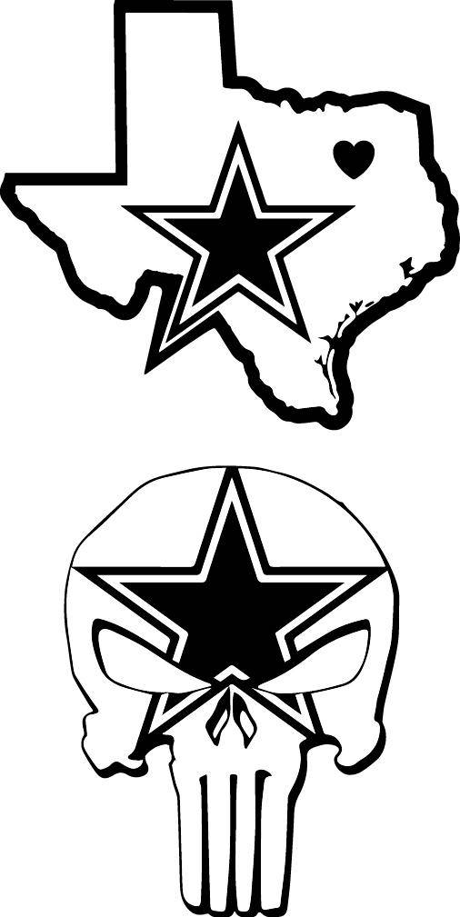 506x1009 Dallas Cowboys Svg Cowboys Svg Punisher Cowboys Svg Texas