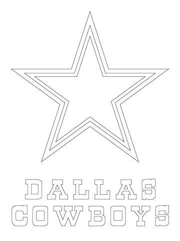 360x480 Dallas Cowboys Coloring Sheets Joandco.co