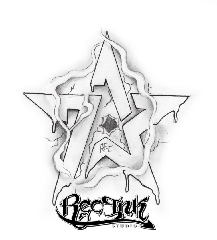 758x840 H Town Tattoo Idea Rec 713 Sketch By Txrec