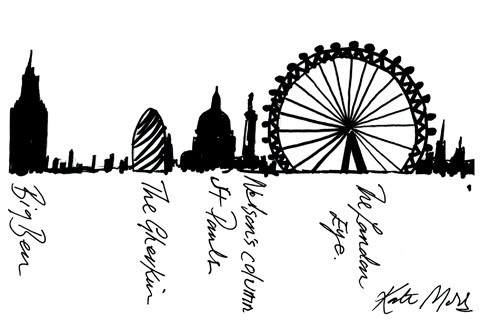 480x330 See Kate Moss39 Handwriting Illustrating The London Eye For