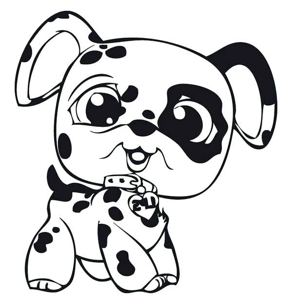 Dalmatian Dog Drawing at GetDrawings | Free download