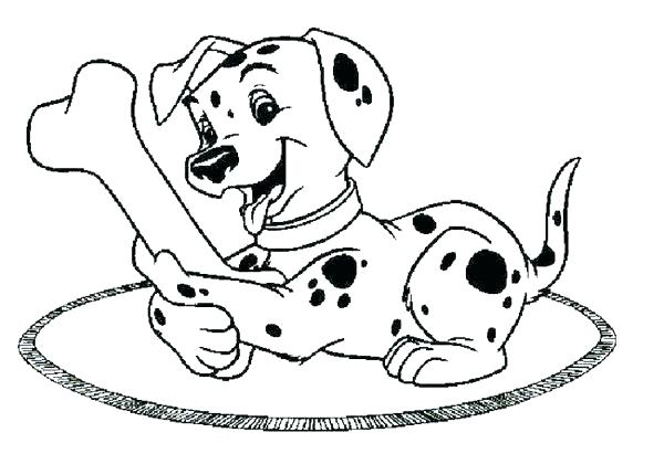 600x420 Dalmatian Fire Dog Coloring Pages Coloring Pages Dalmatiannd