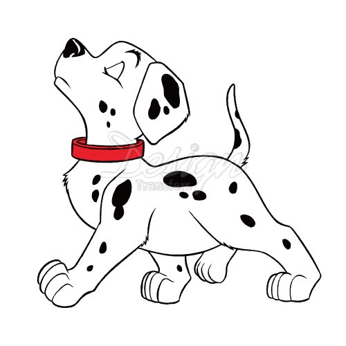 500x500 Design 101 Dalmatians Iron On Transfesrs To Decorate Your T Shirts
