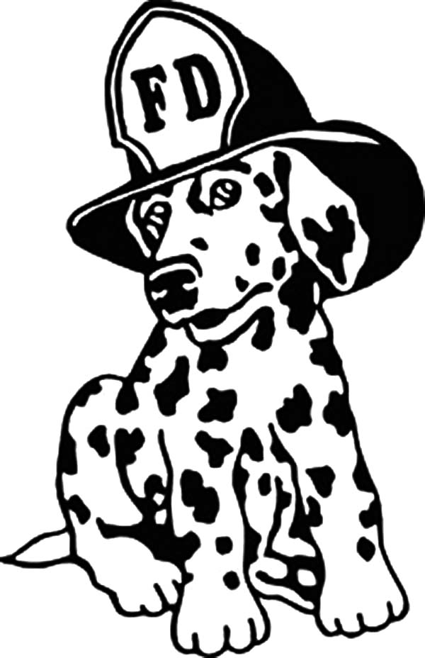 600x928 Fire Dog Coloring Page Drawing Fire Dog Coloring Pages