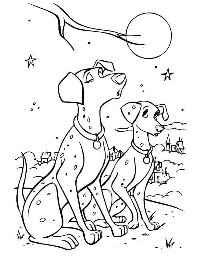 Dalmation Drawing At Getdrawings Com