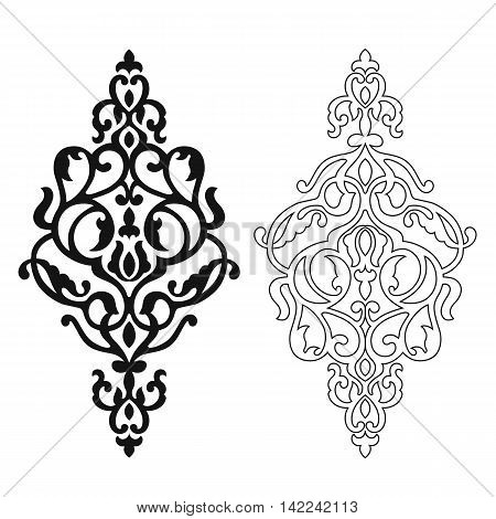 450x470 Damask Pattern, Damask Tattoo, Vector Amp Photo Bigstock