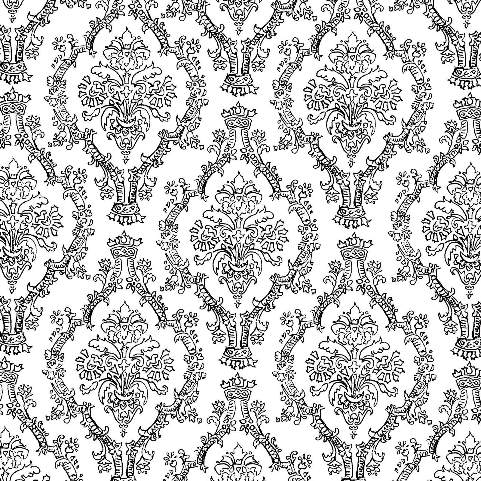 1600x1600 Mel Stampz 19 Colour Pencil Damask Patterns