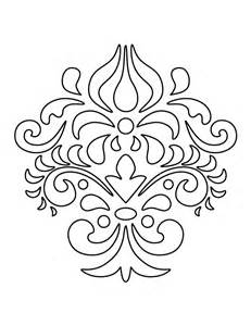 231x300 Damask Coloring Pages For Adults