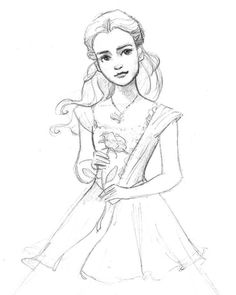 236x295 How To Draw Belle And Beast From Beauty And The Beast With Emma