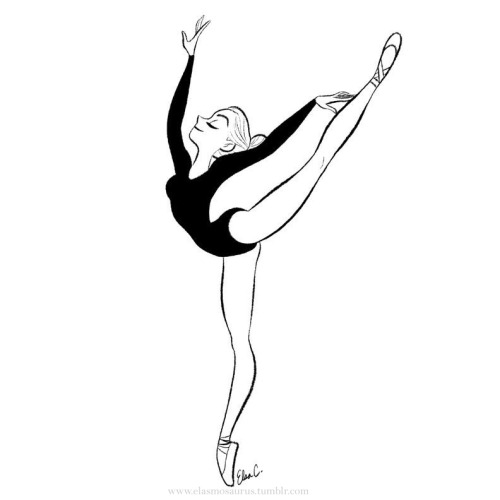 500x500 Elsa Chang's Graceful Ballerina. Drawing Board