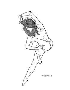 235x300 Dance Figure Drawings