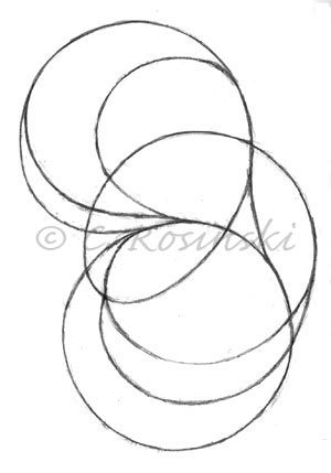 300x429 Drawing Exercise Circles And Lines From My Sketch Book Carol'S